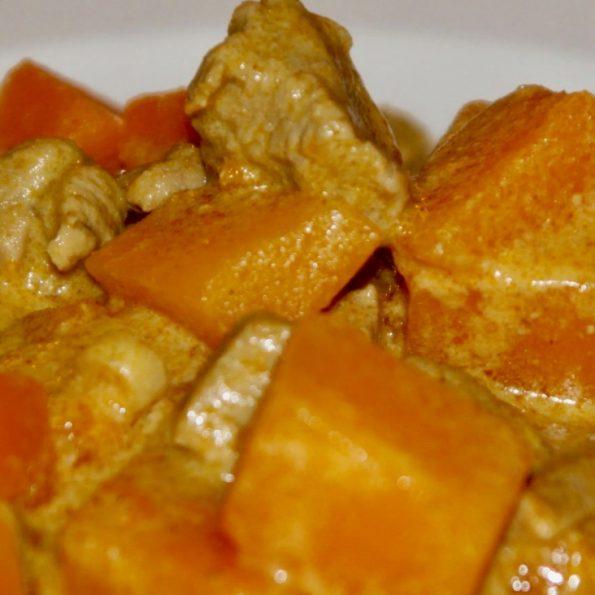 porc curry vietnamien